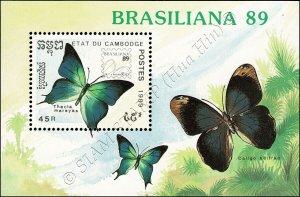 BRASILIANA 89, Rio de Janeiro: Papillon (170A) (**)