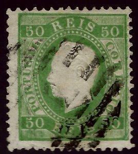 Portugal SC#42 Used Fine SCV$40.00...Worth a close look!!