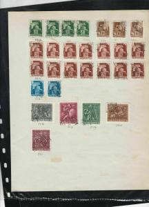 hungary early stamps page ref 18143