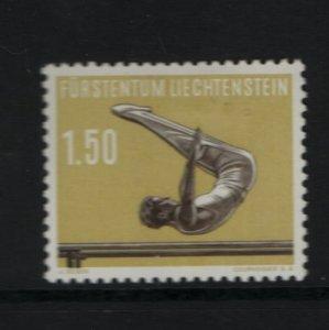 LIECHTENSTEIN 311 Hinged, 1957 Sports Type