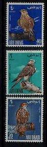 Abu Dhabi 12-14 MNH Birds SCV90.50