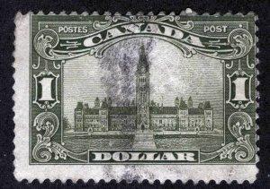 CANADA Sc 159 Used $1 Parliament