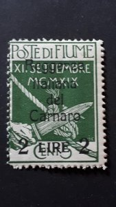 Fiume 1920. - Carnaro overprinted 2L / 5c ** MNH $HCV$