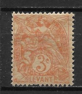 French Offices in Turkey 23 3c single MH