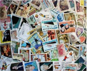 Ivory Coast Stamp Collection - 100 Different Stamps