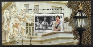 ST.HELENA SGMS794 1999 QUEEN MOTHER  MNH
