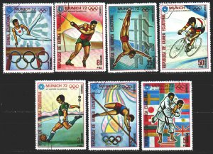 Equatorial Guinea. 1972. 108-14. Munich, summer olympic games. USED.