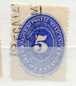 Mexico 1886 Numeral Issue Fine Used 5c. 311041