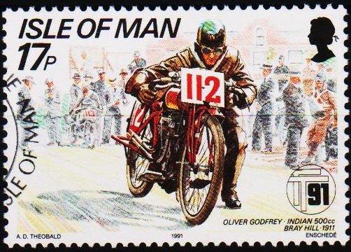 Isle of Man. 1991 17p S.G.478 Fine Used