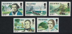 Isle of Man Bicentenary of the Munity on the Bounty 5v SG#408=414