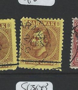 SARAWAK (P0703B)  1C/3C  SG27  VFU