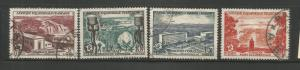 FRENCH EQUATORIAL AFRICA  189-192  USED, FIDES ISSUE