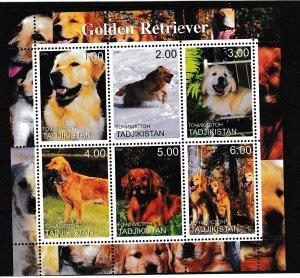 Russia - Local - Tadjikistan - DOGS - S.S. - MNH
