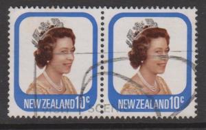 New Zealand Sc#648 Used Pair