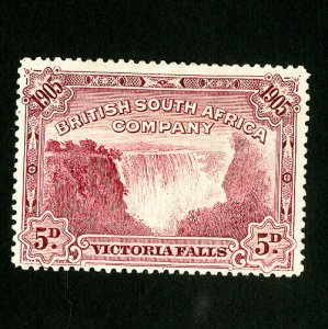 Rhodesia Stamps # 78 VF Hinged Catalog Value $35.00