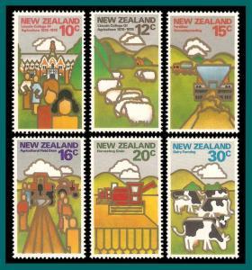 New Zealand 1978 Land Resources, MNH  #660-665,SG1164-SG1169