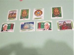 Turkmenistan - 1-8, MNH Set. Various Designs. SCV - $6.15