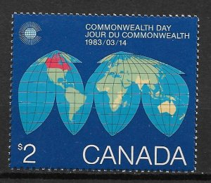 1983 Canada Sc977 $2 Commonwealth Day MNH