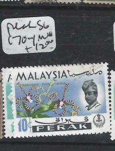 MALAYA PERAK   (P0906B)  ORCHIDS HARRISON SG 170-1   MNH