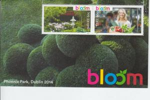 2014 Ireland Bloom Festival SS (Scott 2035-36b) MNH