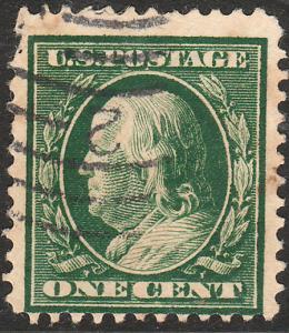 U.S. 331, 1ct FRANKLIN, USED,  F. (42)