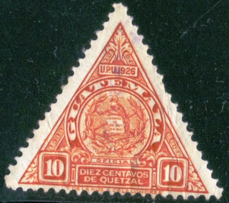 Guatemala - SC #O11 - Used Fault - 1929 - Item G82