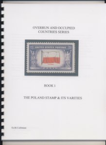 The Poland Stamp & It's Varieties, Scott's 909, Spiral bound, 54 color pages