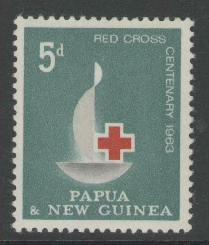 PAPUA NEW GUINEA SG46 1963 RED CROSS CENTENARY MNH