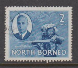 North Borneo Sc#245 Used