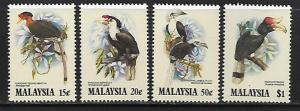 MALAYSIA 266-269 MNH BIRDS SET 1983