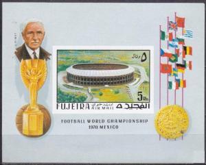 1970 Fujeira 550/B27b 1970 World championship on football of Mexico