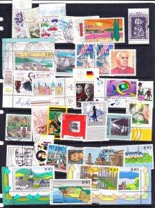 Germany commemorative mix 1980s-90s #7