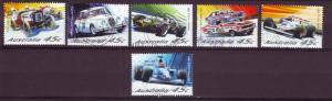 J12819 JLstamps 2002 australia set of 12 used #2035-40, 2041-46 cars