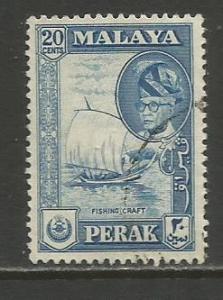 Malaya-Perak   #133  used  (1957)