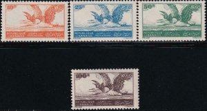 Lebanon 1946 SC C107-C110 MNH Set