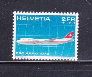 Switzerland CB1 Set MH Plane