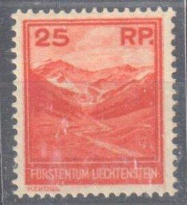 Liechtenstein 1933 Scott #108 VF Mint H