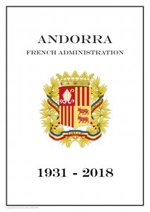 Andorra French Administration 1931-2018  PDF (DIGITAL) STAMP  ALBUM PAGES