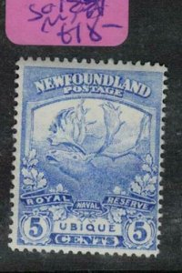 Newfoundland Caribou SG 135 MNH (8ein)
