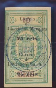 Lourenco Marques Stamp Scott #54, Used - Free U.S. Shipping, Free Worldwide S...