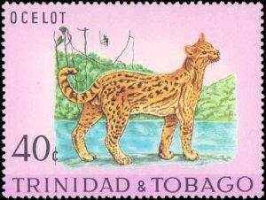 Trindad & Tobago #196-200, Complete Set(5), 1971, Animals, Never Hinged