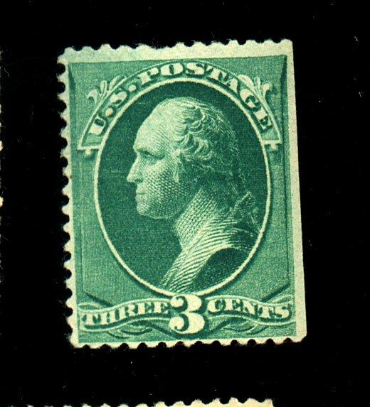 207 MINT F-VF No gum Sm thin Cat $25