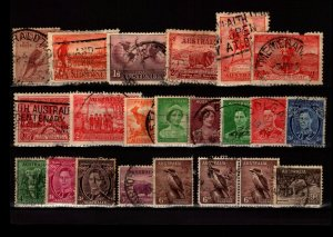 Australia 22 Used, with faults - C2788