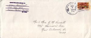 Caroline Islands 20c First Child Ceremony Christmas 1984 Koror RP, 96940 to N...