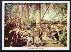 St Kitts Nevis 401 Souvenir Sheet MNH VF