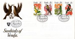 Venda - 1981 Sunbirds FDC SG 38-41