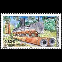 MAYOTTE 2002 - Scott# 180 Sugar Processing Set of 1 NH