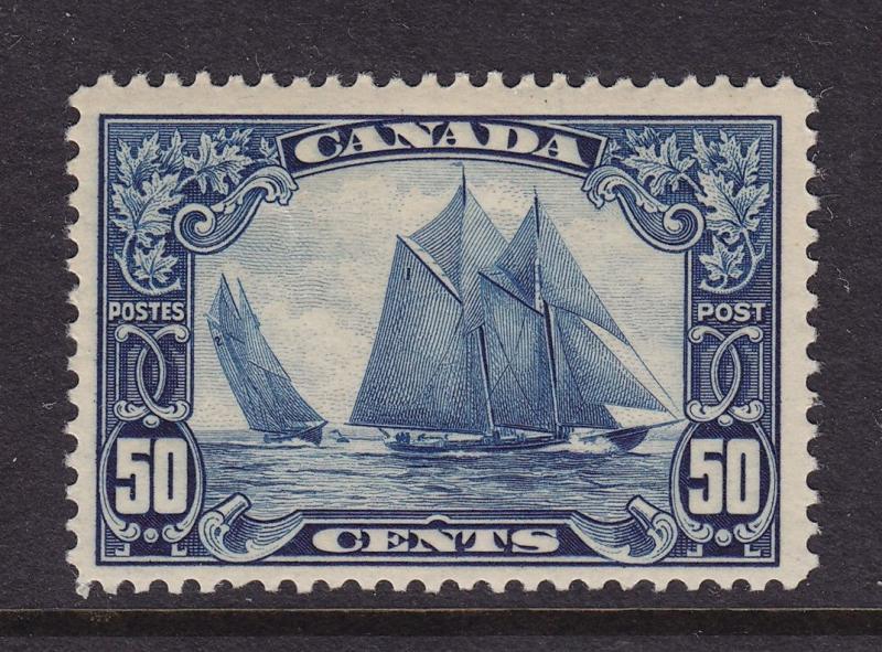 Canada Scott # 158 Blue nose  VF OG never hinged cv $ 450 ! see pic !