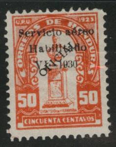 Honduras  Scott Co3 MNG Official airmail 1930 similar centering