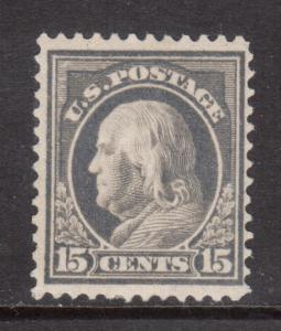 USA #418 Mint Fine - Very Fine Lightly Hinged
